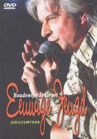 Cover Boudewijn de Groot - Eeuwige jeugd - Jubileumtour [DVD]